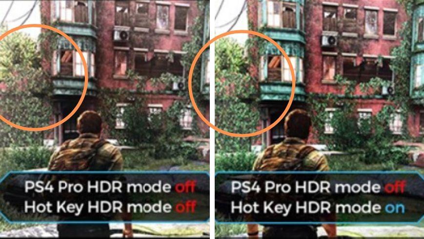 EL2870U HDR機能とB.Iを比較