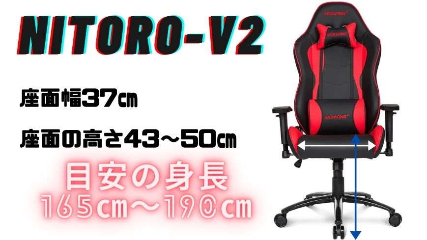 AKRACING NITORO-V2のスペック
