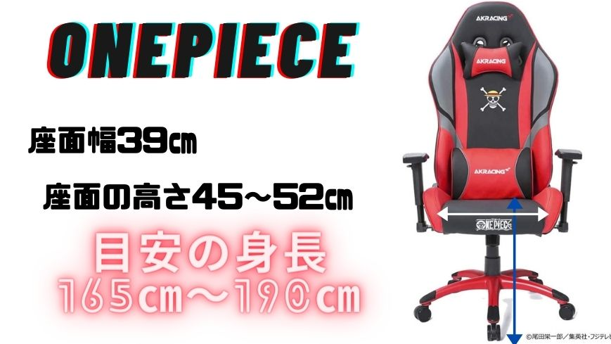 AKRACING ONEPIECEのスペック