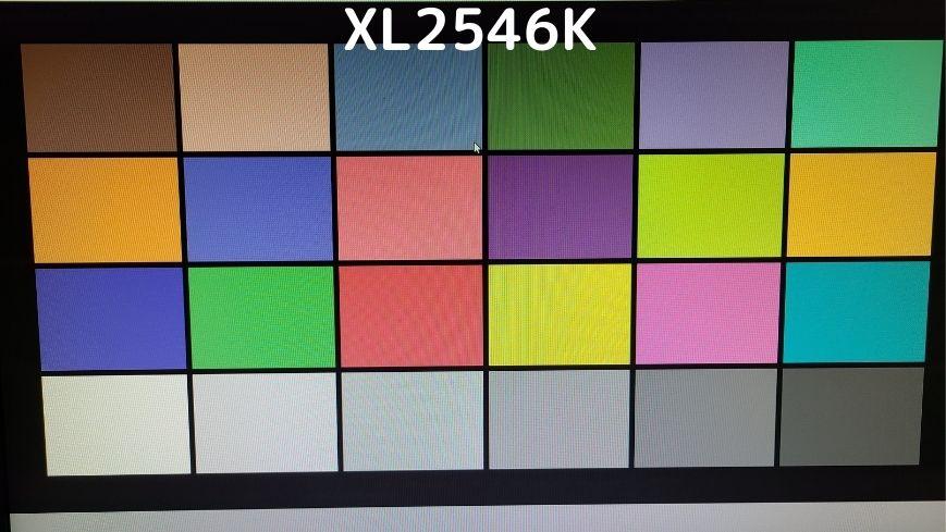 XL2546Kの画質