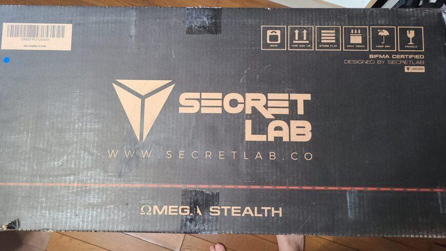 Secretlab開封レビューと組み立てについて