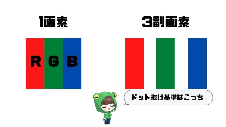 ドット抜けとは (1)